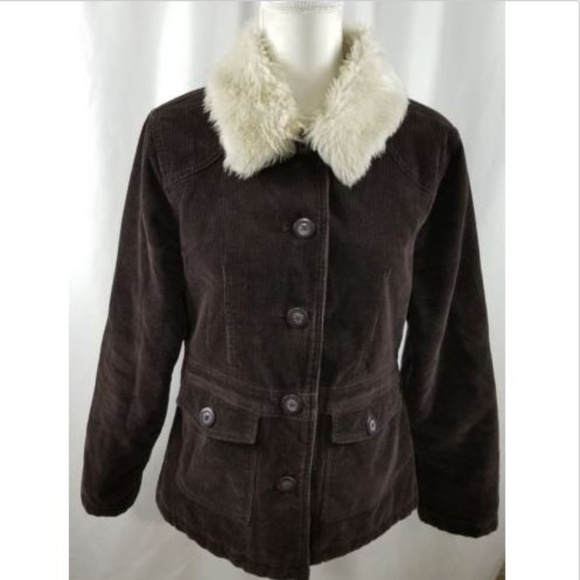 Sonoma Jackets & Blazers - Sonoma Life+Style Corduroy Woman's Brown SZ Medium
